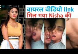 viral updated ; Tik-Tok star निशा गुरगैन का एक MMS वायरल हुआ जो सोशल मीडिया पर आग की तरह फैला!