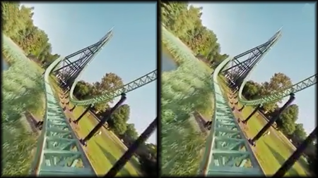 VR Thrills: Roller Coaster 360 (Google Cardboard) APK screenshot thumbnail 10