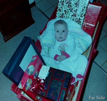 Savannah and her wagon