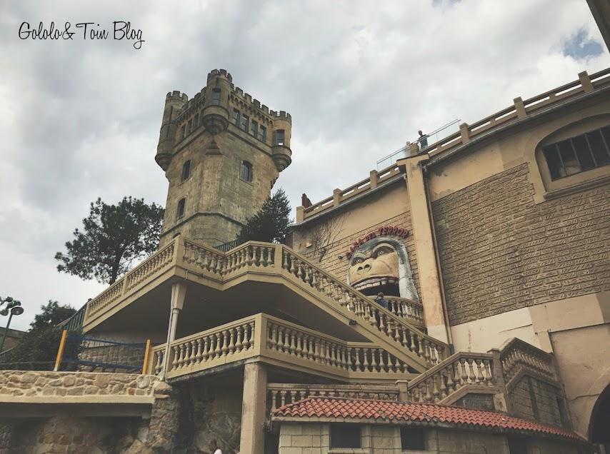 Torreón y Casa del Terror de MOnte Igueldo