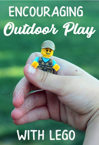 Encouraging outdoor play with LEGO