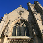 Collégiale Saint-Martin : façade ouest
