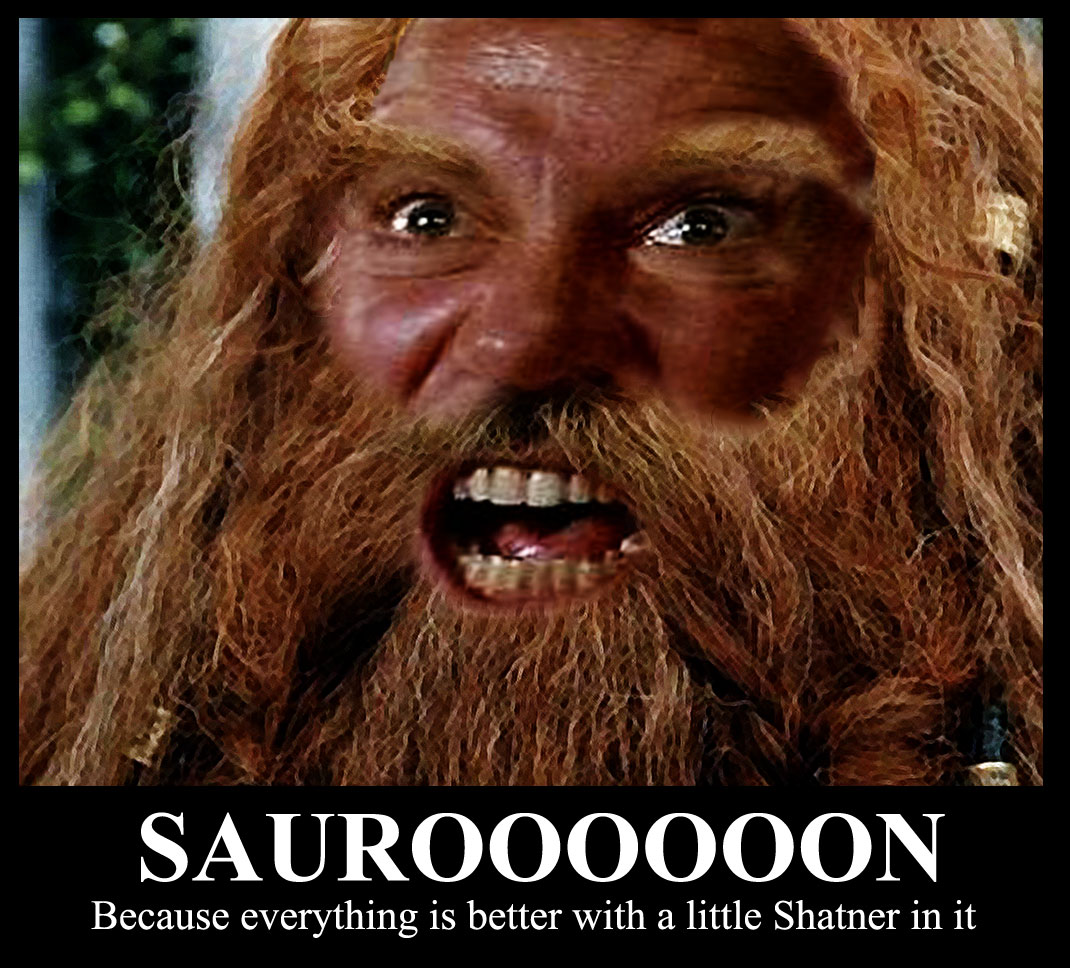 SAUROOOOON it was only logical, captain music for a mid life geek