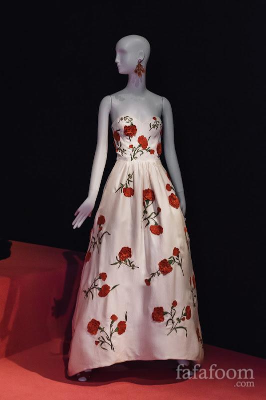 Oscar de la Renta, Evening dress, Resort 2012.
