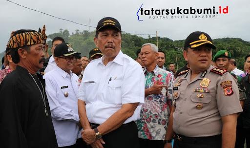 Menteri Koordinator Bidang Kemaritiman Republik Indonesia Luhut Binsar Pandjaitan// Foto : Isep Panji