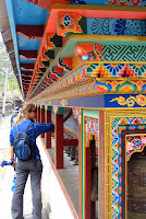 More prayer wheels - Day 4 - Chame - Lower Pisang
