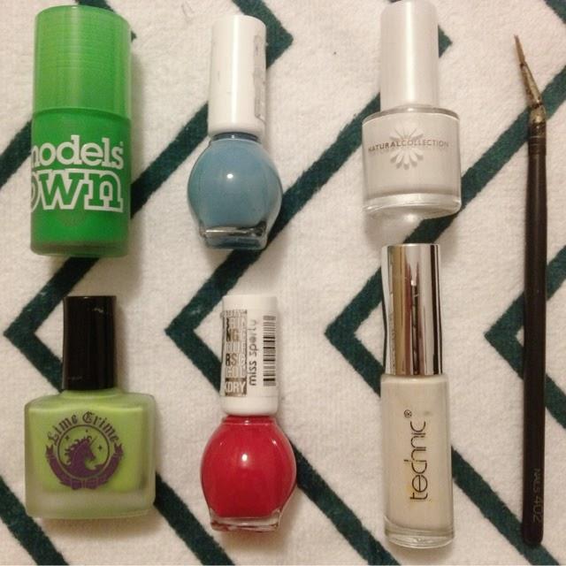 Models Own Lime Crime nail brush