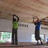 Plafond maken in 2e opvang