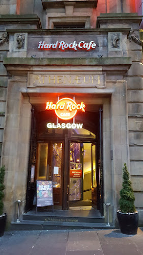 Hard Rock Cafe Glasgow, St Patrick's Day, burgers, Glasgow restaurant