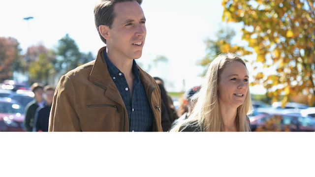 Josh Hawley's Wife Files Criminal Complaint Against Activist Who Allegedly Led Protest At Her Home