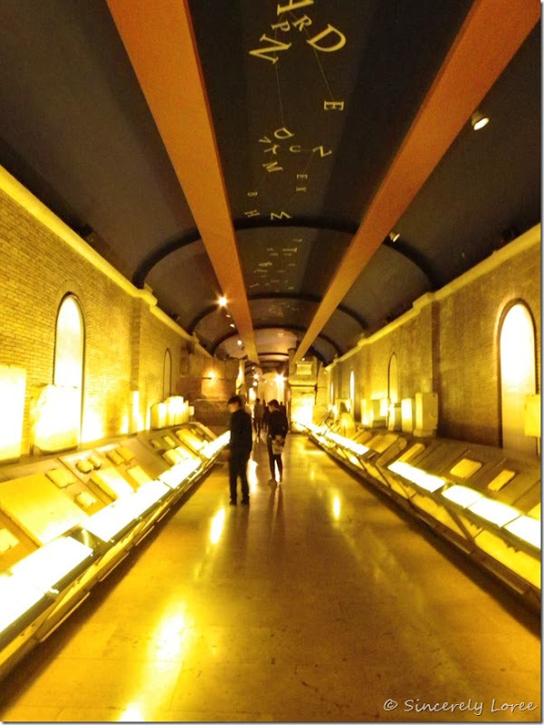 Underground passage connecting Capitoline museums