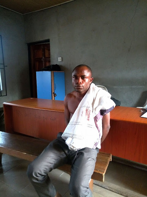 35-year-old man has been arrested for allegedly trying to rape a 6-year-old pupil in a school in Warri, Delta state