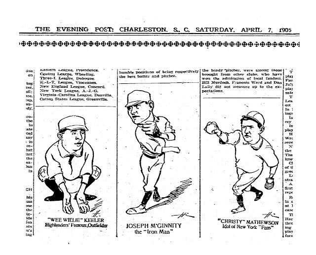 Baseball cartoonery