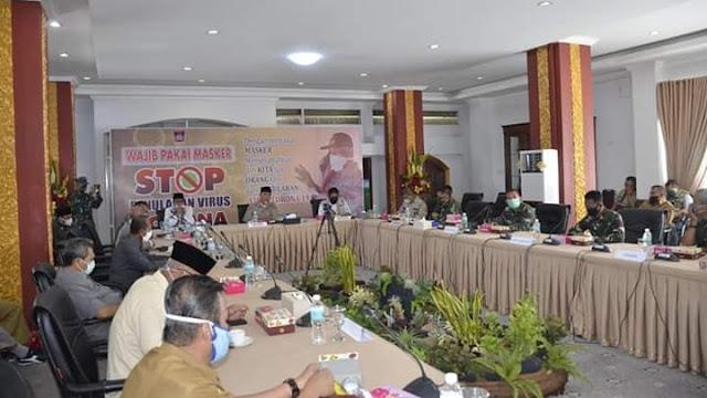 Pemko Padang dan Forkopimda Berkomitmen Sukseskan PSBB