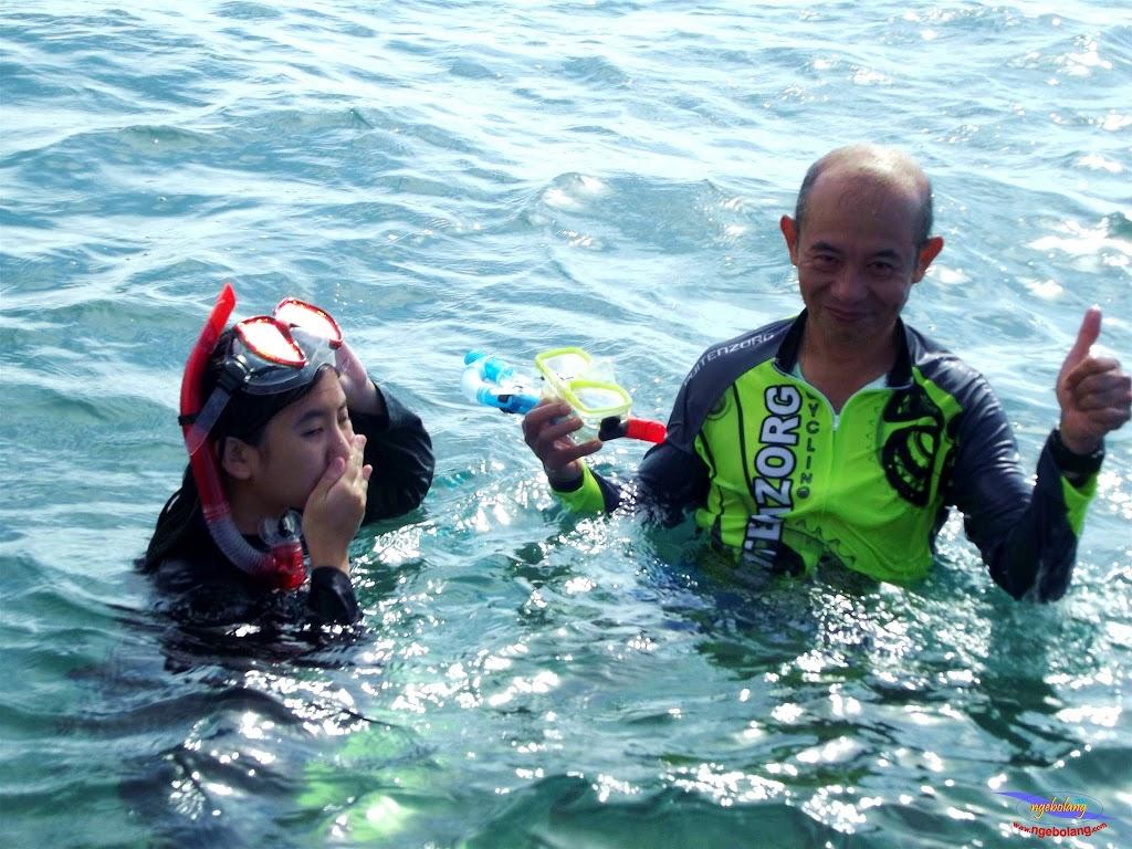 family trip pulau pari 140716 Fuji 090