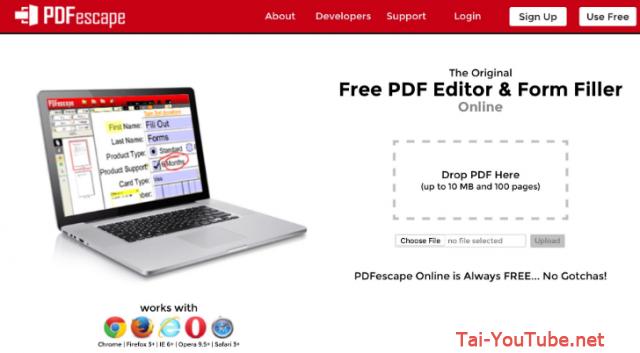 Một số phần mềm Biên tập, chỉnh sửa PDF miễn phí trên Windows + Hình 4