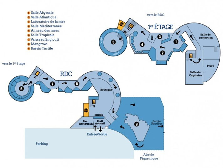 aquarium St-Malo plan