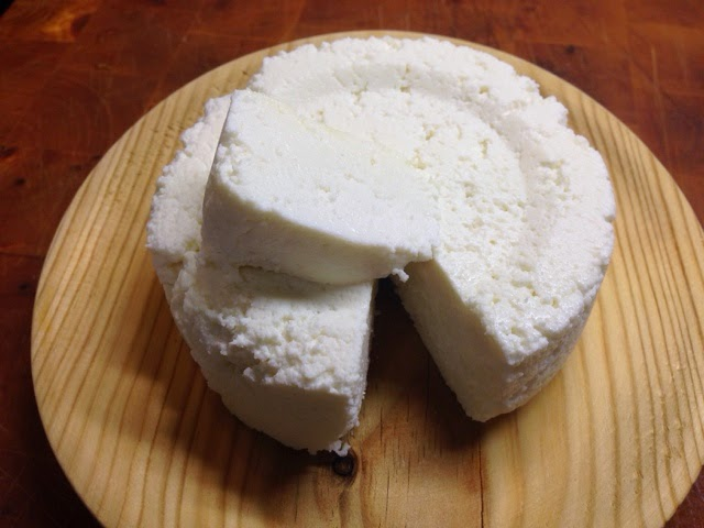 Un Padre Cocinillas Queso fresco caseroQueso Fresco Dibujo