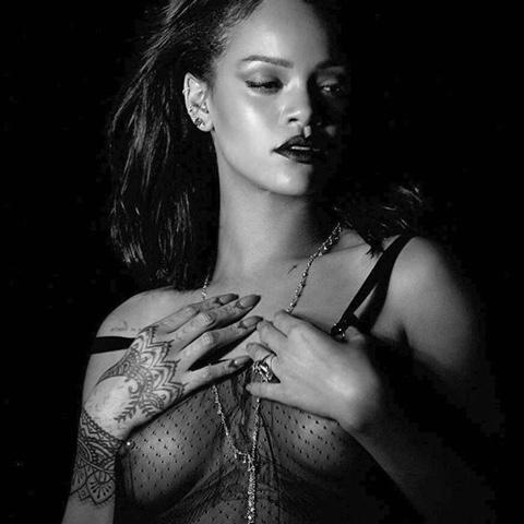 Rihanna's  Kiss It Better Video Outfits