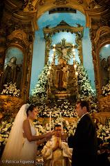 Foto 0687. Marcadores: 14/06/2008, Altar, Nossa Sra Monte do Carmo, Rio de Janeiro, Roberta e Bruno