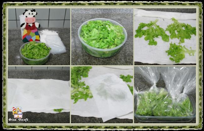Conservando verduras 2