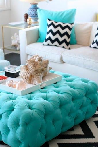 decoração-azul-turquesa-sala-abrir-janela