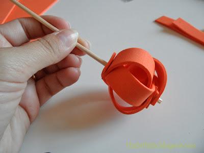 Cómo hacer calabazas para decorar en otoño.