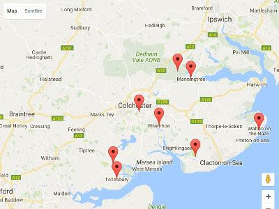 Essex Map image