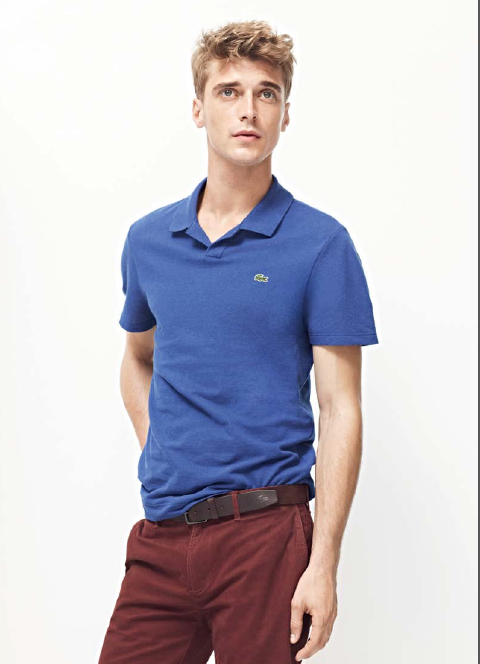 "Lacoste ""Nonchalant Urban Sportswear"" for SS13 [men's fashion]"