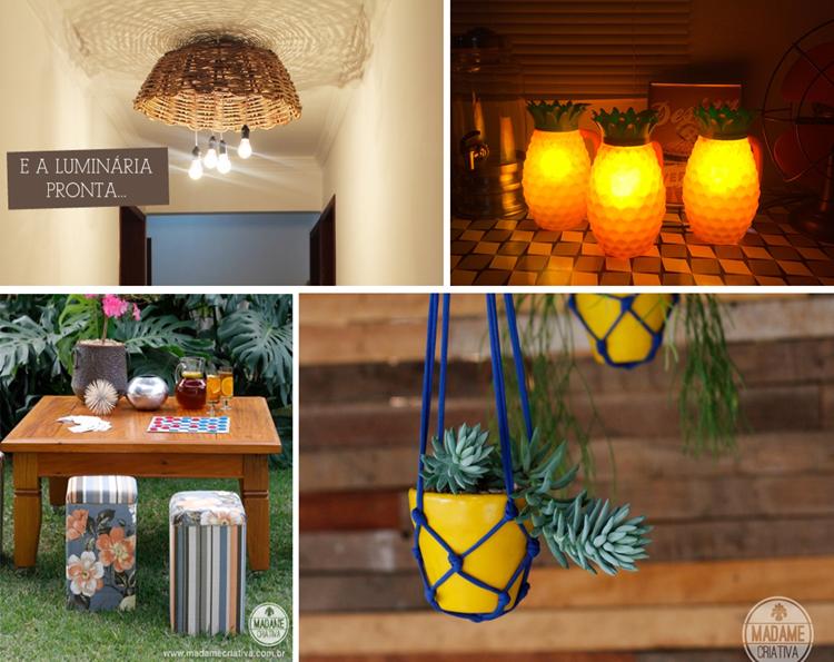 As melhores ideias para decorar a sua casa DIY