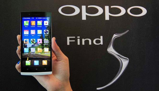 Oppo Find 5 Spesifikasi dan Harga