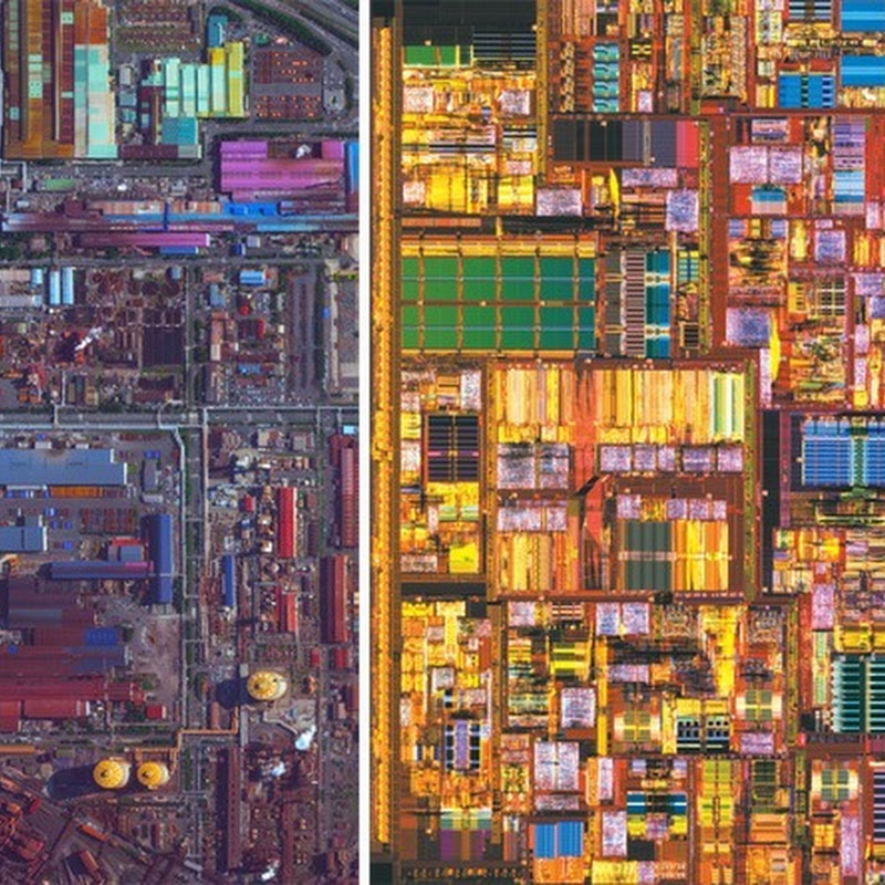 Satellite Images or Microscopic Photos?