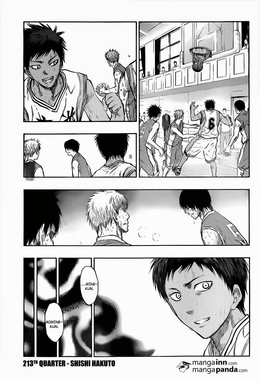 Kuroko no Basket Manga Chapter 213 - Image 03