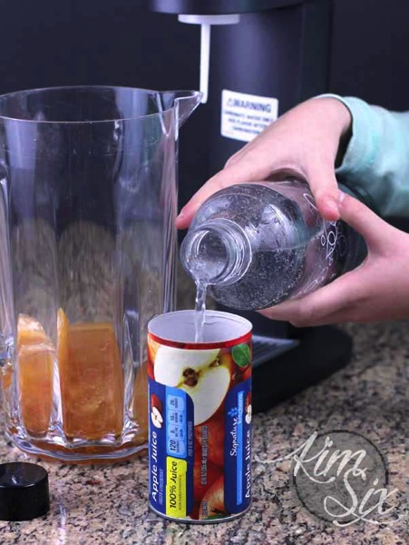 Using soda stream to carbonate juice