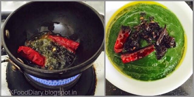 Easy Keerai Masiyal Recipe (Mulai Keerai Kadayal without dal) | SpinachPuree 7
