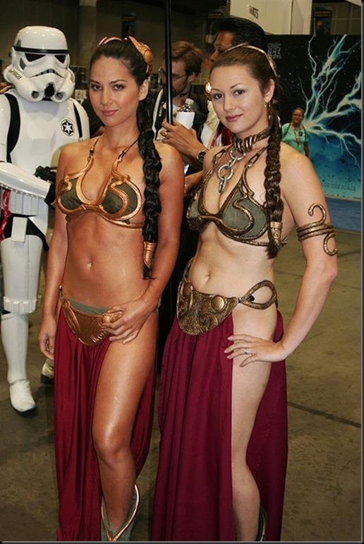Princess Leia - Golden Bikini Cosplay_865825-0003