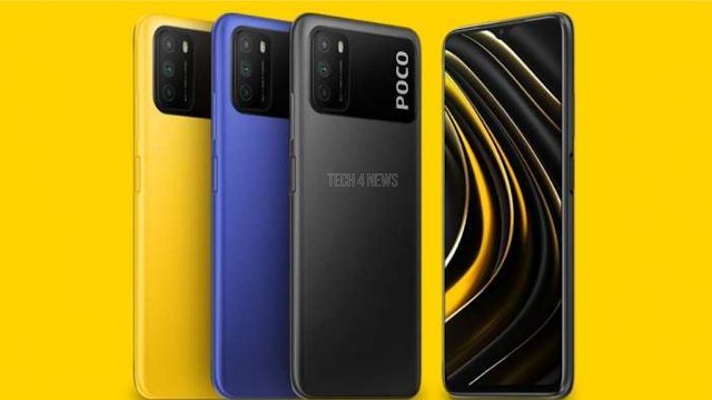 Poco M3 with Triple Rear Cameras Launched | Price in India  and Specification