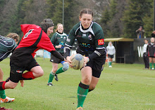 Rachel Lennox in action for City of Derry