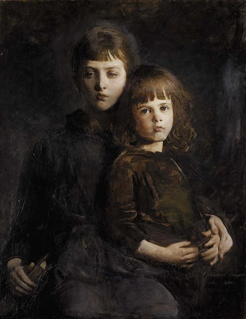 Abbott Handerson Thayer - Mary and Gerald Thayer