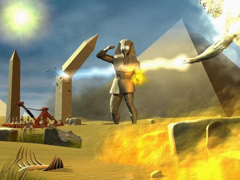 Angers Of The Egyptian God, Egyptian Magic