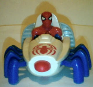 Front of Spider-Man Webrunner 1995