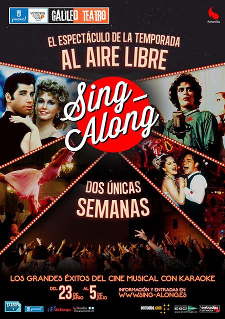 'Sing Along' Cine + karaoke en los Veranos del Galileo