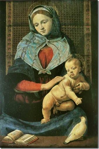 Piero_di_Cosimo_-_Vierge_à_l'enfant