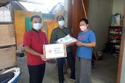 Pasca Kebakaran Dapur Rumah Warga Bancar,  PMI Droping Sembako