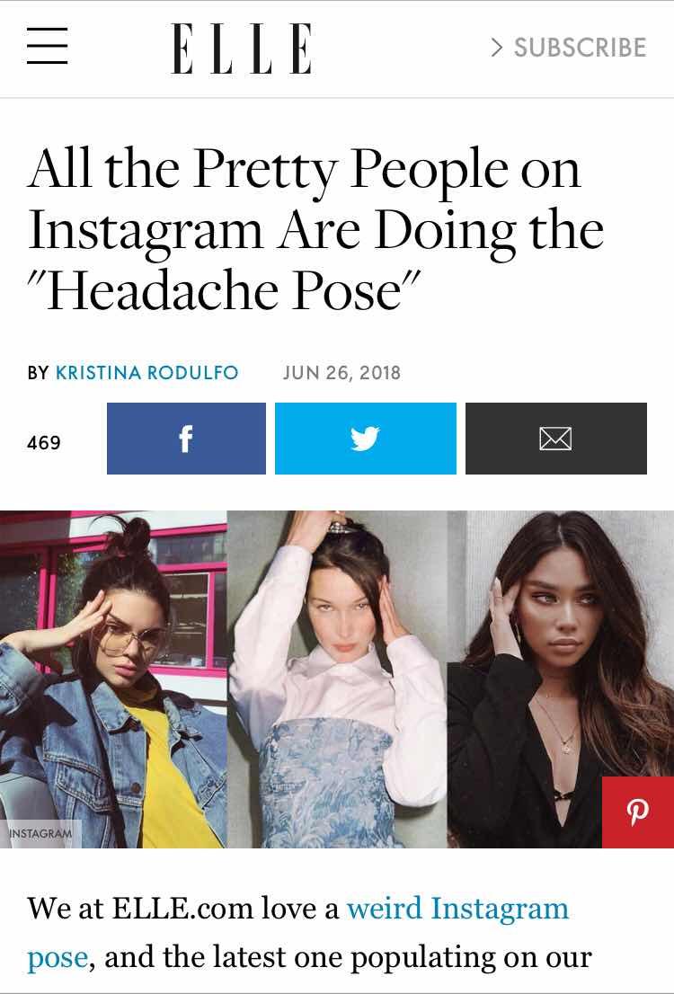 strike a pose, migraine pose, #migrainepose, #truemigrainepose