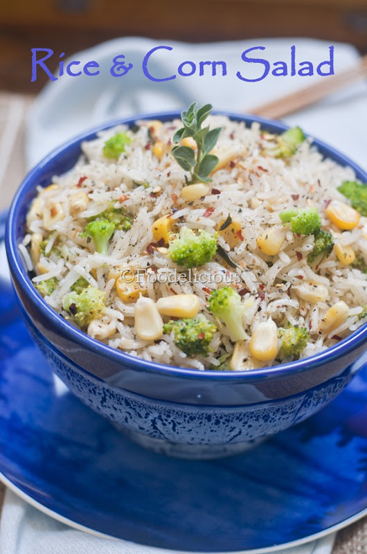 Rice & Corn Salad