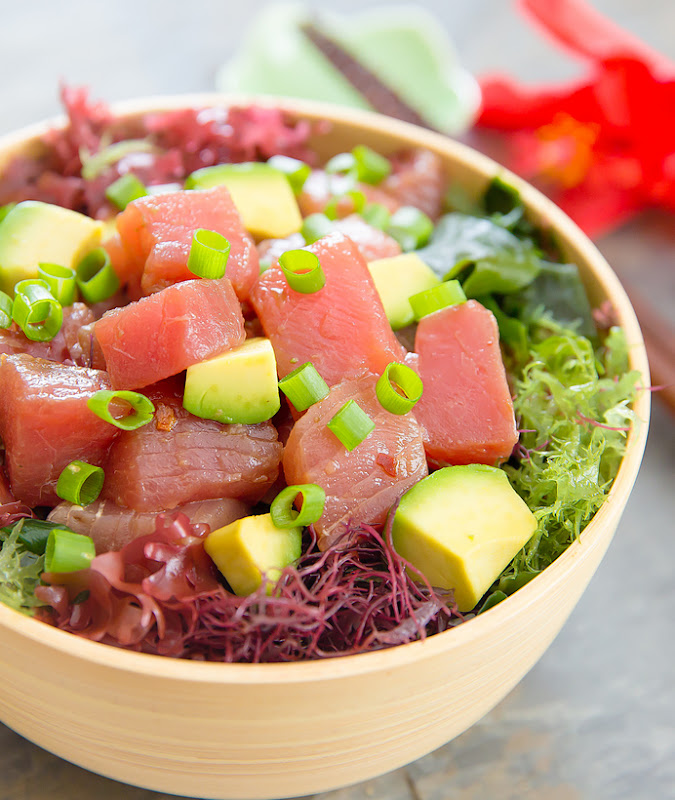 close-up photo of Poke Bowl