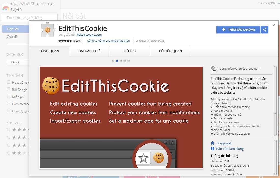 Cách dùng ahrefs Cookie miễn phí bằng Google Chrome
