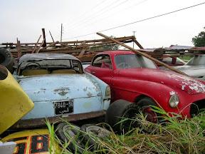 Abandoned Ferrari 166 Inter