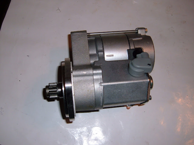 NEW 1964-1966 401-425 GEAR REDUCTION MINI STARTER, WILL BOLT TO 1961-63 BLOCKS FOR USE WITH STICK FLYWHEELS AND ST400 TRANS. 275.00 free shipping lower 48